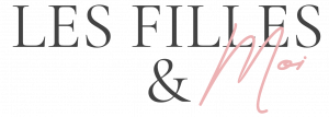 Logo noir et rose