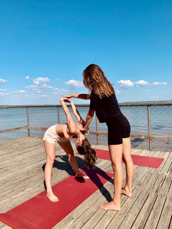 Un instant suspendu yoga